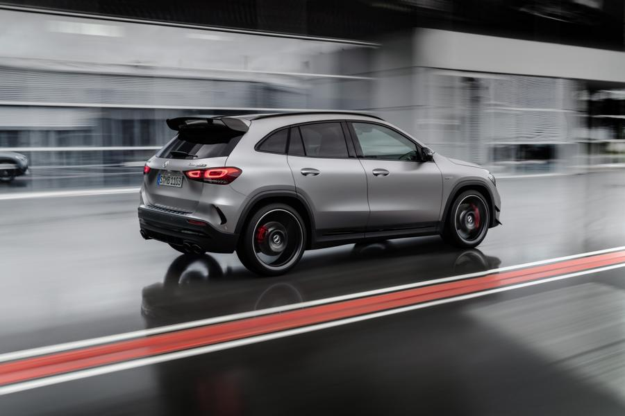Mercedes AMG GLA 45 4MATIC 421 PS 2020 Tuning 5 Weltrekord: Mercedes AMG GLA 45 4MATIC+ mit 421 PS