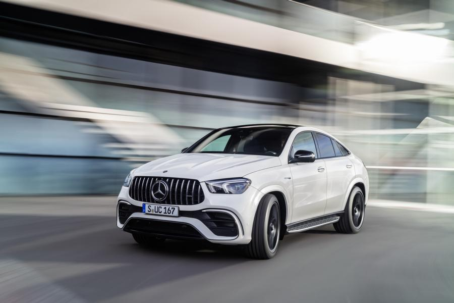 Mercedes AMG GLE 63 4MATIC Coupé C 167 Tuning 17 Hybrid: Mercedes AMG GLE 63 4MATIC+ Coupé (C 167)