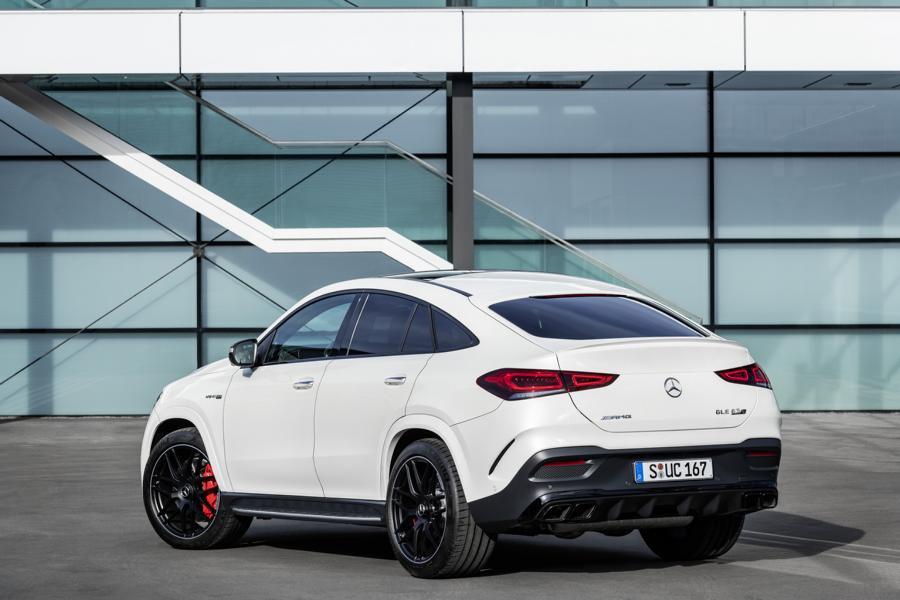 Mercedes AMG GLE 63 4MATIC Coupé C 167 Tuning 22 Hybrid: Mercedes AMG GLE 63 4MATIC+ Coupé (C 167)