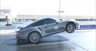 Porsche 911 Turbo S 991 Wheelie 310x165 Video: Kein Fake Porsche 911 Turbo S (991) Wheelie!