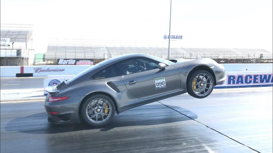 Porsche 911 Turbo S 991 Wheelie Video: Kein Fake   Porsche 911 Turbo S (991) Wheelie!