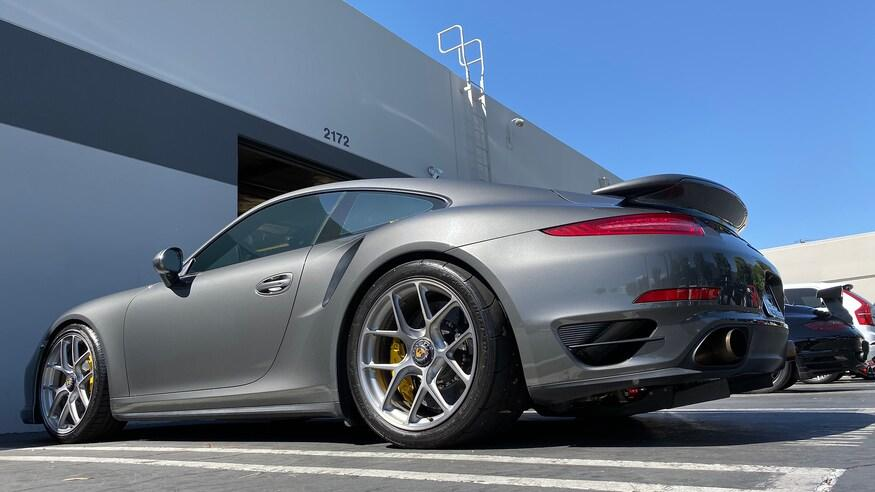 Porsche 911 Turbo S 993 Wheelie Video: Kein Fake   Porsche 911 Turbo S (991) Wheelie!