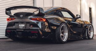 Street Hunter Widebody Kit Toyota Supra A90 Airride Tuning Header 310x165 2020 Street Hunter Widebody Kit for the Toyota Supra!
