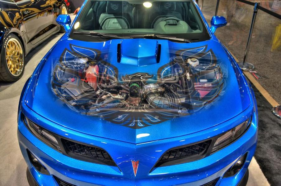 Trans Am 455 Super Duty Chevrolet Camaro Depot Tuning Targa blue 2 Trans Am 455 Super Duty auf Basis des Chevrolet Camaro