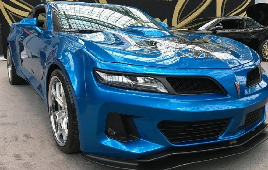 Trans Am 455 Super Duty Chevrolet Camaro Depot Tuning Targa blue Trans Am 455 Super Duty auf Basis des Chevrolet Camaro