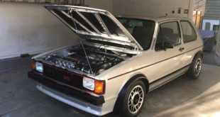 Volkswagen Rabbit GTI 1983 Restomod Tuning 310x165 Video: 1983er VW Golf GTI für 140.000 Dollar aufgebaut!