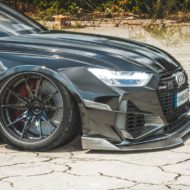 Widebody Audi RS6 C8 2020 Tuning Dachbox bagged 11 190x190 2020 Audi RS6 (C8) Widebody mit 1.250 PS & Dachbox!