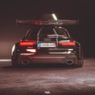 Widebody Audi RS6 C8 2020 Tuning Dachbox bagged 3 190x190 2020 Audi RS6 (C8) Widebody mit 1.250 PS & Dachbox!