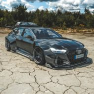 Widebody Audi RS6 C8 2020 Tuning Dachbox bagged 6 190x190 2020 Audi RS6 (C8) Widebody mit 1.250 PS & Dachbox!