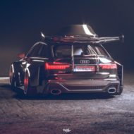 Widebody Audi RS6 C8 2020 Tuning Dachbox bagged 8 190x190 2020 Audi RS6 (C8) Widebody mit 1.250 PS & Dachbox!