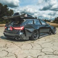 Widebody Audi RS6 C8 2020 Tuning Dachbox bagged 9 190x190 2020 Audi RS6 (C8) Widebody mit 1.250 PS & Dachbox!
