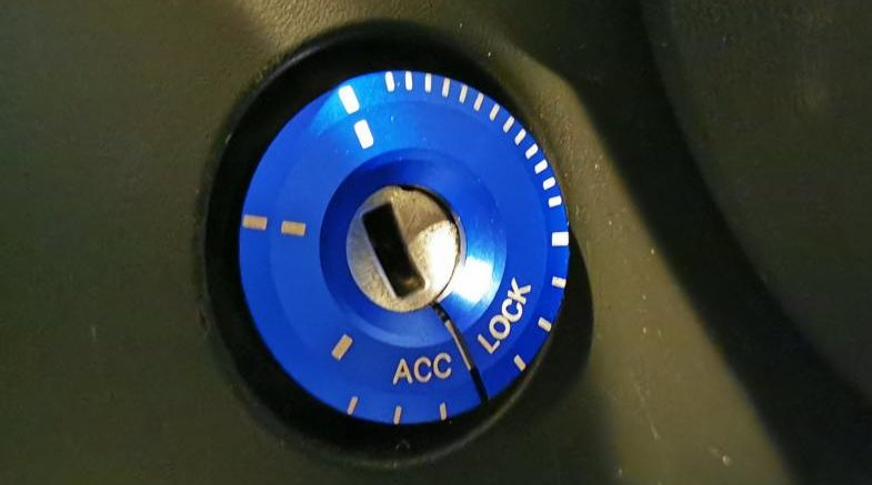 Ignition lock cover keyhole cover 2 1 e1581103093388 Tuning in detail the ignition lock cover in the car!
