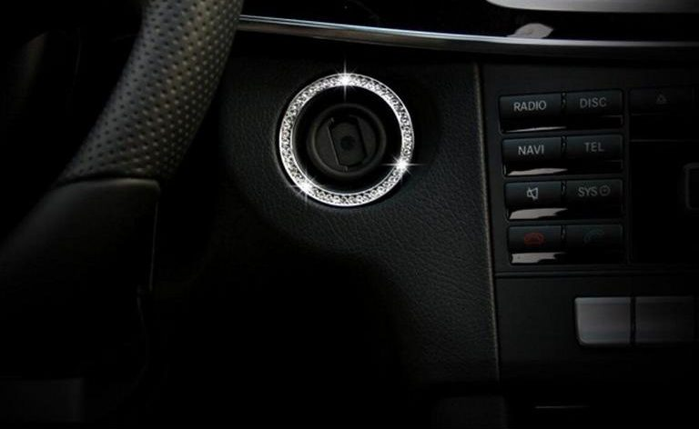 Ignition lock cover keyhole cover 3 e1580704989347 Tuning in detail the ignition lock cover in the car!