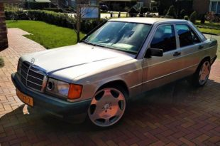 1984 Mercedes 190 6 liter V12 engine header 310x205 1984 Mercedes 190 with 6 liter V12 engine! No baby Benz!