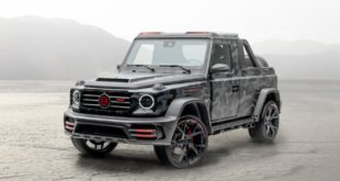 2020 Mansory Mercedes G Klasse Star Trooper Pickup W463A Tuning 1 310x165 2020 Mansory Mercedes G Klasse als Star Trooper Pickup