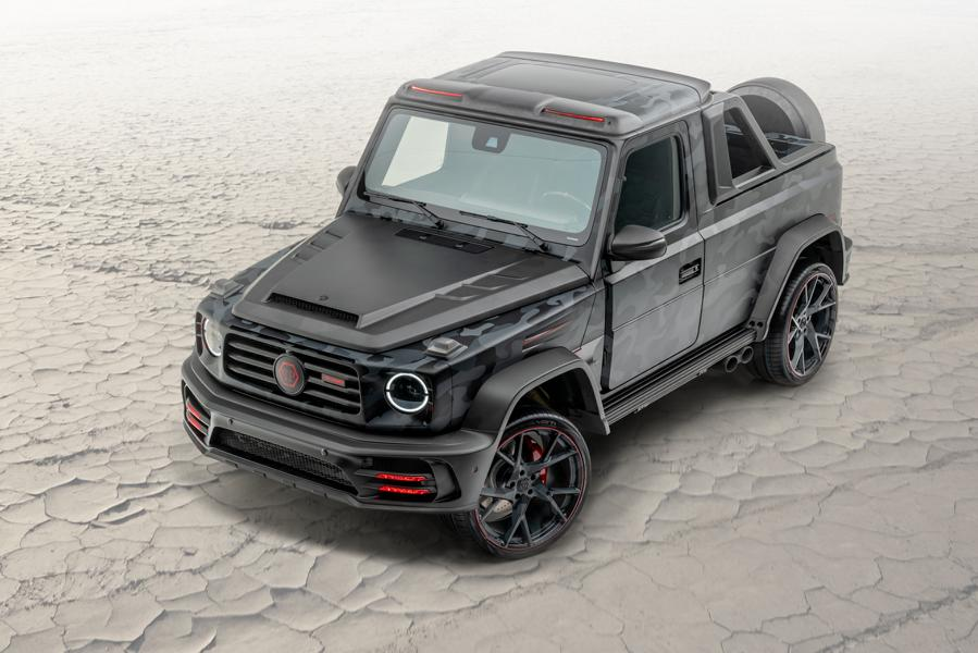 2020 Mansory Mercedes G Klasse Star Trooper Pickup W463A Tuning 6 2020 Mansory Mercedes G Klasse als Star Trooper Pickup