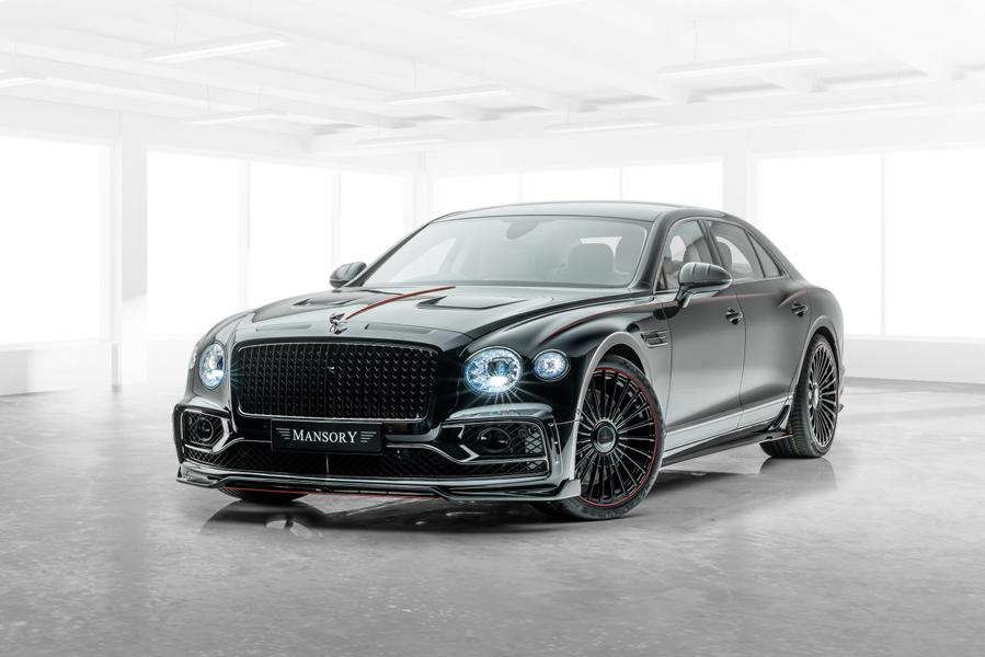 710 PS Bentley Flying Spur W12 Tuning Mansory 1 710 PS Bentley Flying Spur W12 vom Tuner Mansory!