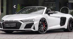 "APOCALYPTICAR Audi R8 V10 Plus Turbo Header 310x165 Wheelsandmore AUDI RS Q8 ""GOLIATH"" mit +1.000 PS!"