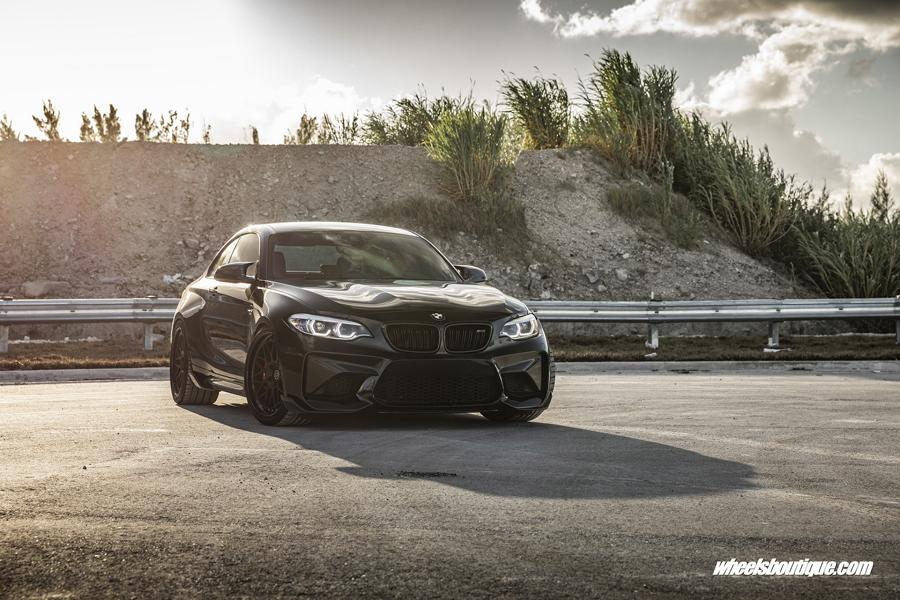 BMW F87 M2 Coupe HRE Classic 300 Tuning 23 BMW F87 M2 Coupe auf HRE Classic 300 Schmiedefelgen!