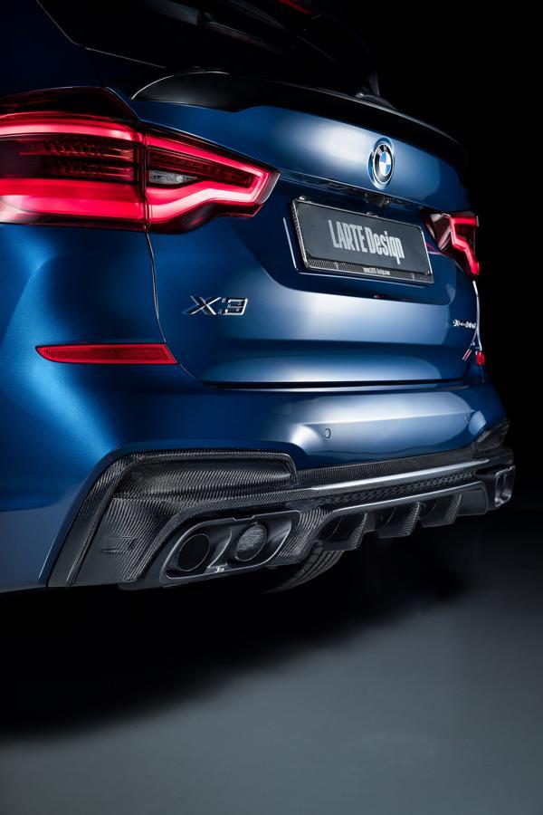 BMW X3 G01 Bodykit Carbon Larte Design Tuning 6 BMW X3, X4 und X5 jetzt mit Larte Design Tuning Parts!