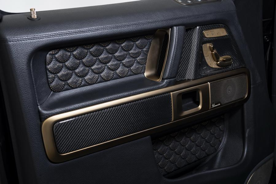 Brabus 800 Black Gold Edition G63 Merceds Benz W463A 13 Brabus 800 Black & Gold Edition G63 Merceds Benz AMG