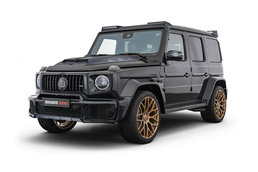 Brabus 800 Black Gold Edition G63 Merceds Benz W463A 3 Brabus 800 Black & Gold Edition G63 Merceds Benz AMG