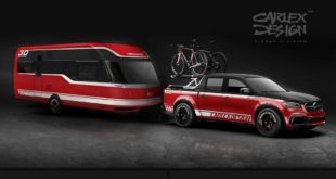 Carlex Exy Viale Bike Tour Set Mercedes W470 Widebody Trailer 5 310x165 G Ahoi   Carlex Mercedes G63 AMG Yachting Edition!