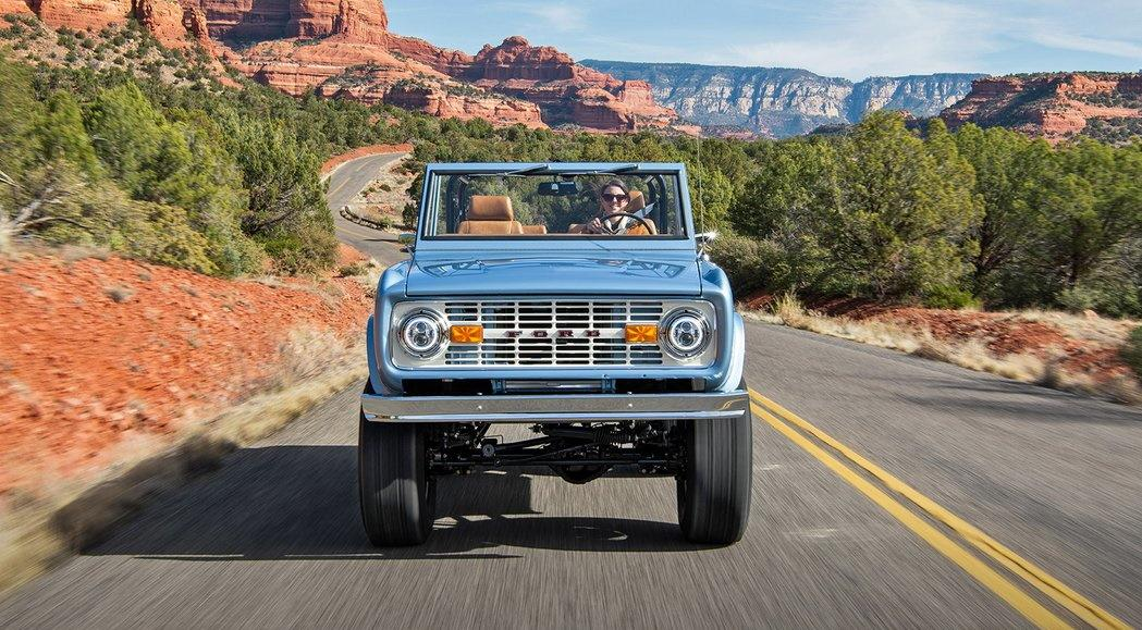 Elektro Ford Bronco Restomod Tuning Gateway Bronco 6 Vollelektrisch: Ford Bronco Restomod von Gateway Bronco!