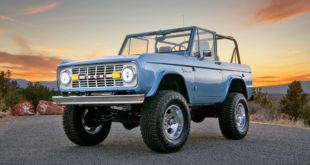 Elektro Ford Bronco Restomod Tuning Gateway Bronco 7 310x165 1976 Ford Bronco Restomod im schicken Ruby Red!