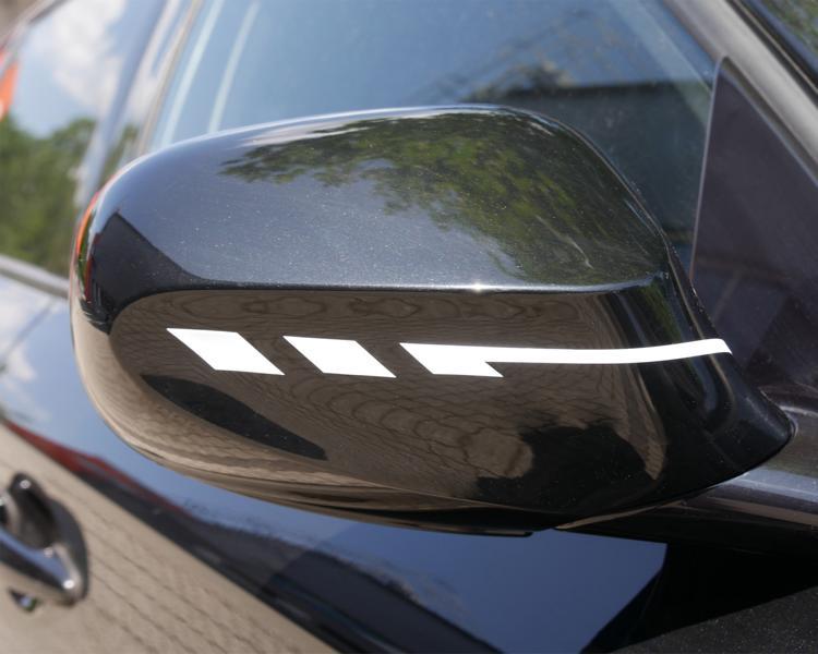 FOLIATEC Pin Striping Mirror Cap Rückspiegel Tuning 1 FOLIATEC®.com präsentiert Pin Striping für Außenspiegel