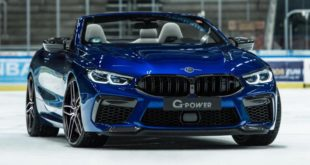G POWER G8M Bi TURBO BMW M8 Cabrio F91 Header 310x165 820 PS in the G POWER G8M Bi TURBO BMW M8 Cabrio (F91)