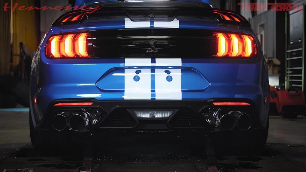 Hennessey GT500 Venom 1000 Shelby Ford Mustang Tuning 5 Endlich Ruhe   Nachbar bringt Mustang zum Schweigen!