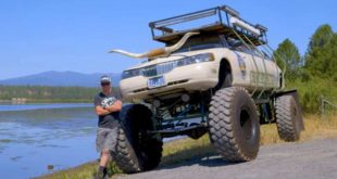 Lincoln Monster Truck 4x4 USS Compensator 310x165 Video: More is always possible with the Lincoln Monster Truck 4x4!