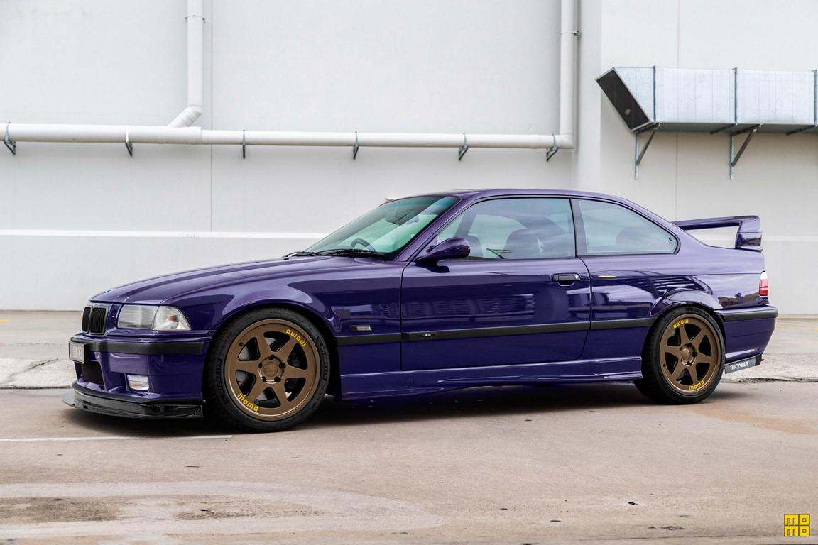 Classic With New Shoes Momo Bmw E36 M3 Coupe