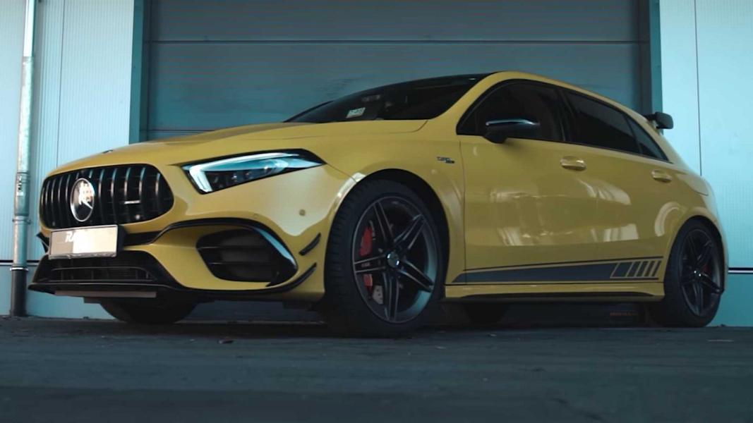 RaceChip Mercedes AMG A45 S W177 Video: 491 PS & 540 NM im RaceChip Mercedes AMG A45 S
