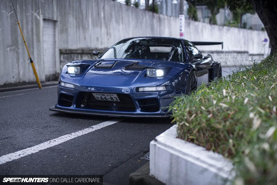 Racing Honda NSX NA1 Widebody 350 PS Tuning 15 1250 kg   Racing Honda NSX (NA1) Widebody mit 350 PS