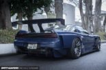 Racing Honda NSX NA1 Widebody 350 PS Tuning 16 155x103 1250 kg   Racing Honda NSX (NA1) Widebody mit 350 PS