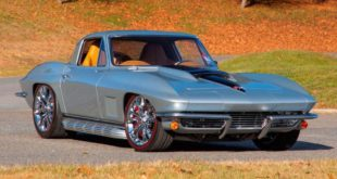 Restomod 1967 Corvette C2 V8 Coupe Mecum Tuning 1 310x165 A dream Restomod 1967 Corvette C2 with 525 PS V8!