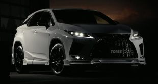 TOM's Bodykit 2020 Lexus RX Luxus SUV Header 310x165 Dezent: TOM's Bodykit am 2020 Lexus RX Luxus SUV!