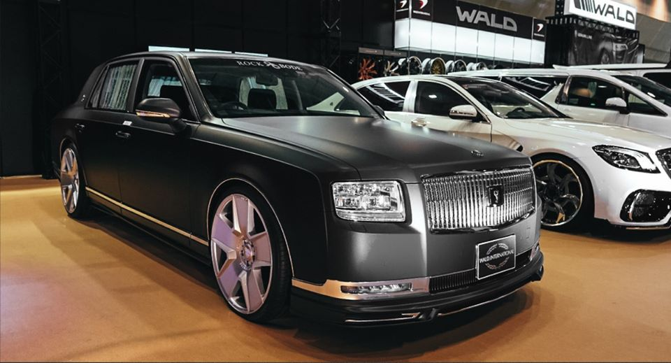 Toyota Century Bodykit Tuning Wald International 2 Toyota Century mit Bodykit vom Tuner Wald International