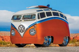 VW T1 Surf Seeker cartoon vehicle Bull Microbus Header 310x205 Madness of the VW T1 Surf Seeker as a cartoon vehicle!