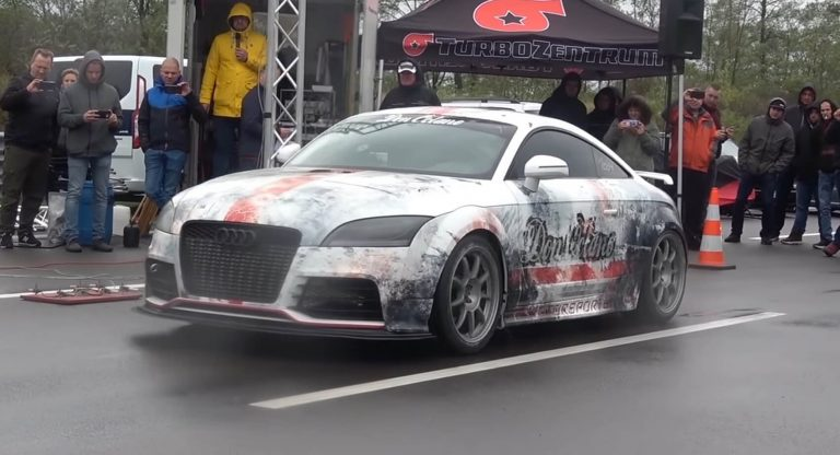 1.300 HP Audi TT RS Coupe Video: 0 320 km/h im 1.300 HP Audi TT RS Coupe!