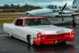 1968 Cadillac V8 Coupe DeVille Restomod Tuning 6 155x104 Rot/Weiß  1968 Cadillac V8 Coupe DeVille als Restomod!