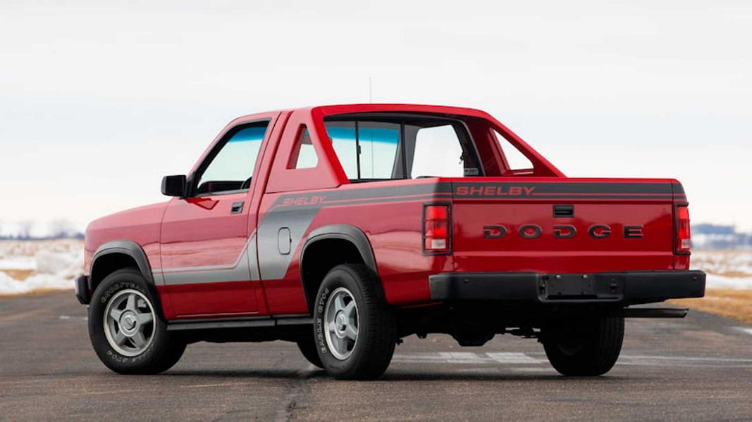1989 Dodge Shelby Dakota RWD V8 Pickup 2 Selten: 1989 Dodge Shelby Dakota RWD mit V8 Triebwerk!