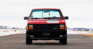 1989 Dodge Shelby Dakota RWD V8 Pickup 3 310x165 Selten: 1989 Dodge Shelby Dakota RWD mit V8 Triebwerk!