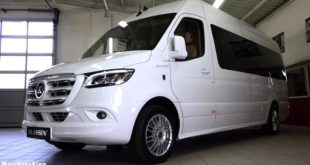 2020 2020 Mercedes Sprinter VIP KING VAN Klassen Tuning 1 310x165 Video: Extremer Luxus   2020 Mercedes Sprinter von Klassen