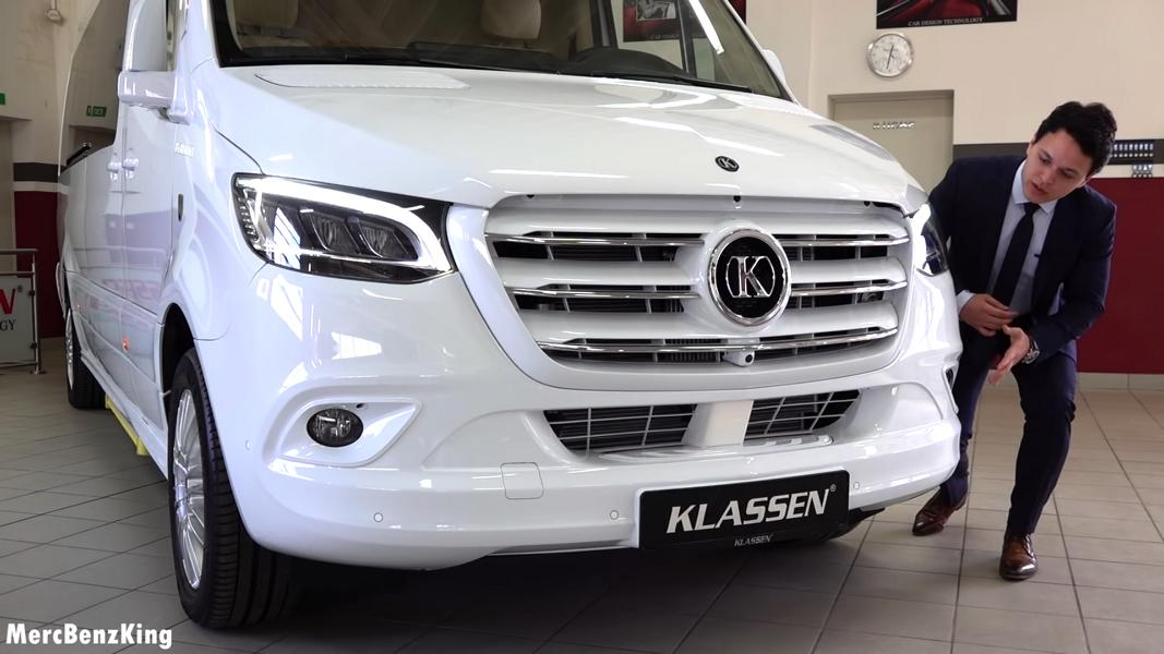 2020 2020 Mercedes Sprinter VIP KING VAN Klassen Tuning 3 Video: Extremer Luxus   2020 Mercedes Sprinter von Klassen