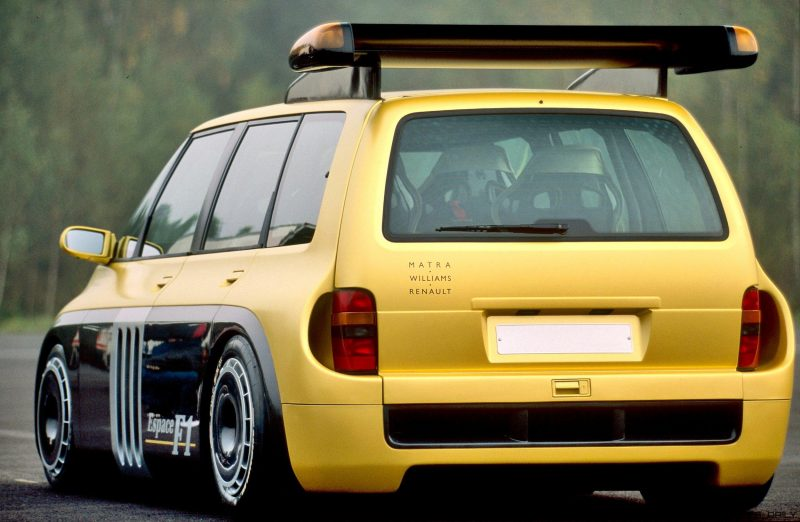 811 PS Renault Espace F1 V10 Power Tuning 10 Einzelstück: 811 PS Renault Espace F1 mit V10 Power!