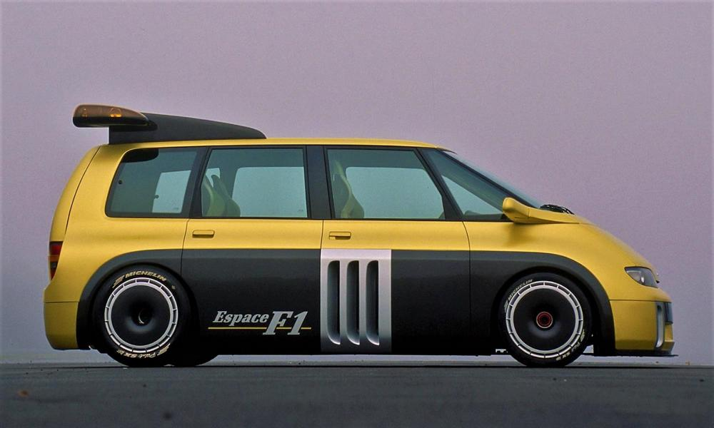 811 PS Renault Espace F1 V10 Power Tuning 36 Einzelstück: 811 PS Renault Espace F1 mit V10 Power!