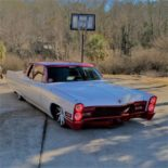 Cadillac V8 Coupe DeVille Restomod Tuning 2 155x155 Rot/Weiß  1968 Cadillac V8 Coupe DeVille als Restomod!